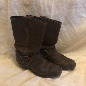 Frye Harness Boot Size 8